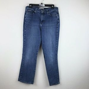 Lee Relaxed Bootcut At The Waist Jeans Sz 10 Short